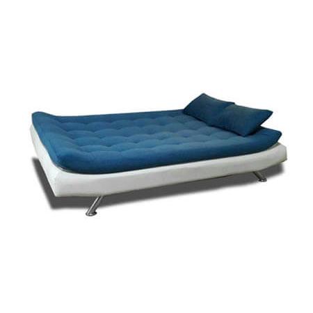 مبل تخت خواب شو آبی سفید